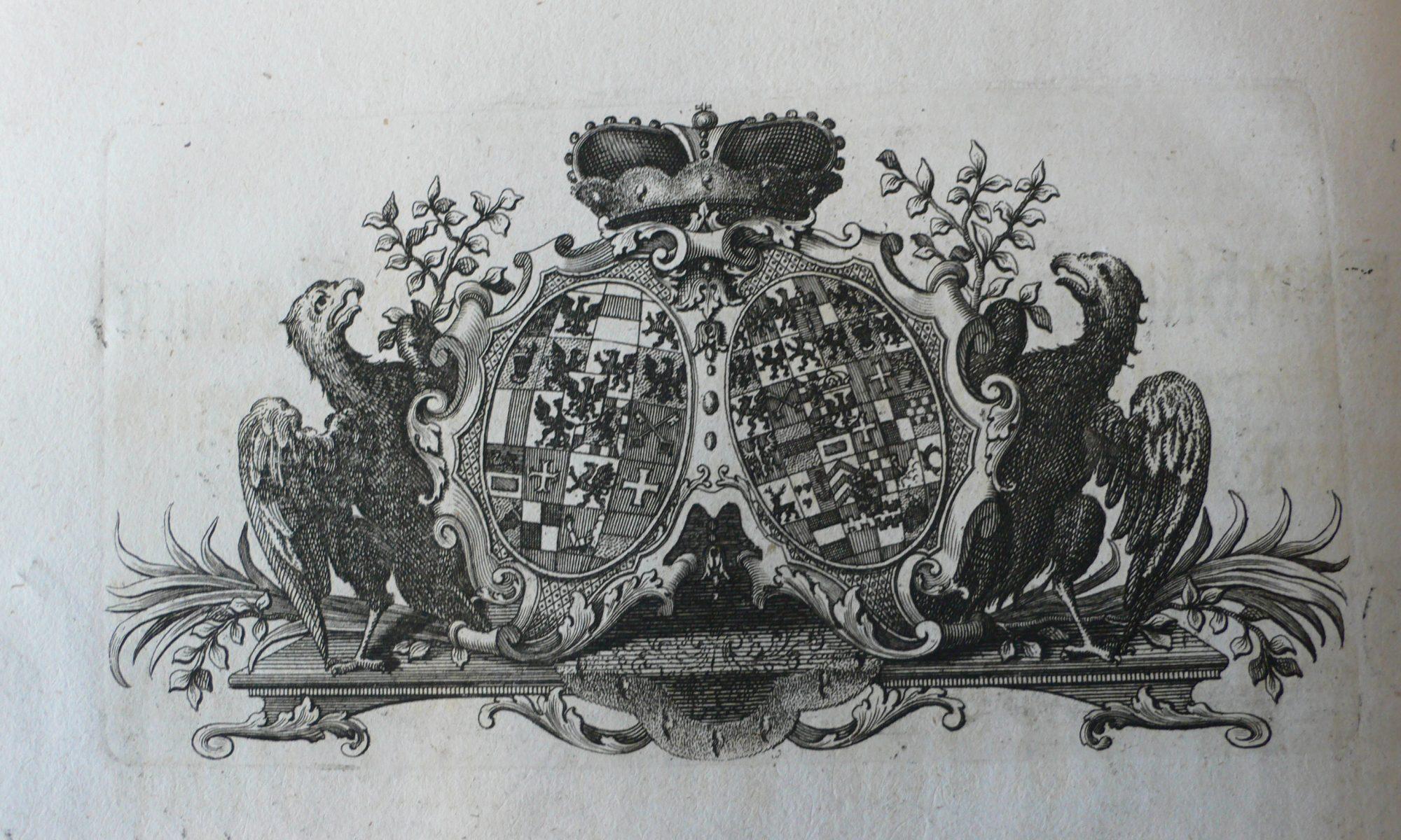 Allianzwappen Ansbach-Kulmbach und Preußen