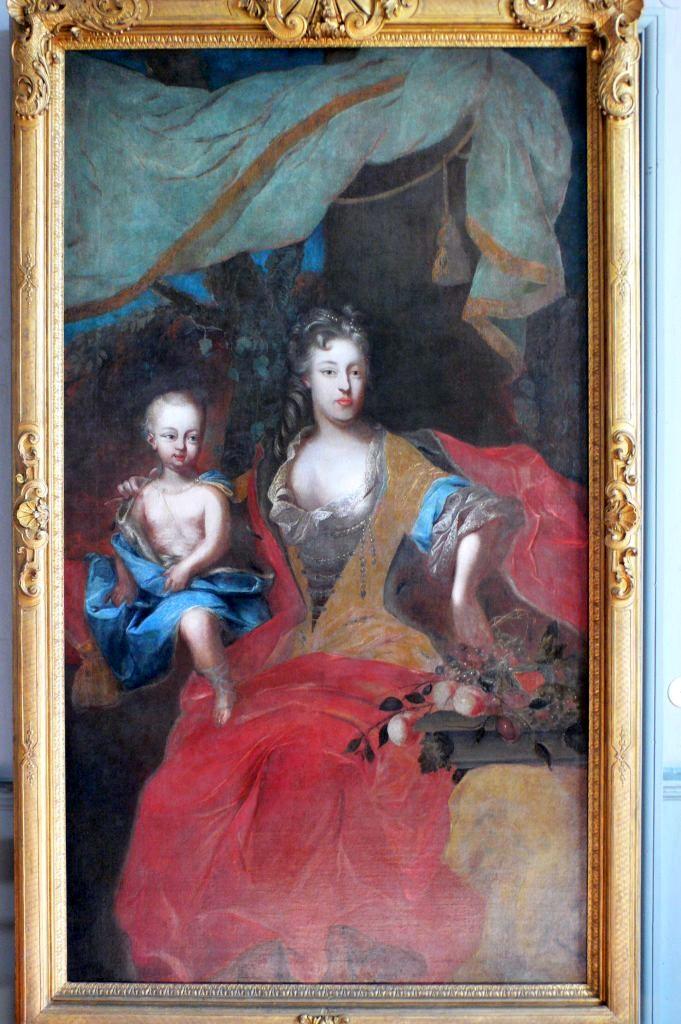 Markgräfin Christiane Charlotte von Brandenburg-Ansbach, Mutter des Markgrafen von Ansbach|Hohenzollern.
