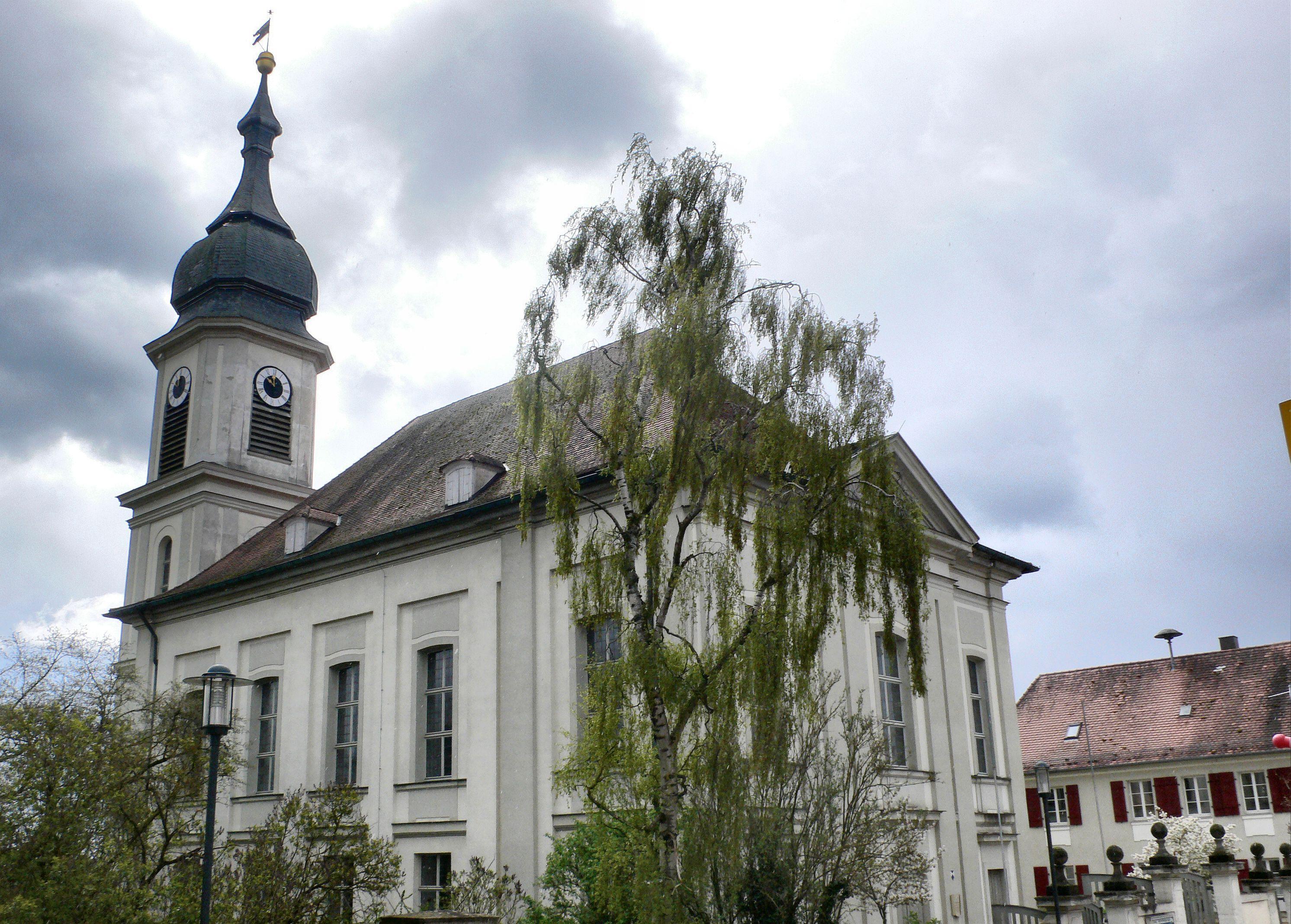 Ansbacher Markgrafen| Markgrafen von Ansbach - Hof und Pfarrkirche Weidenbach