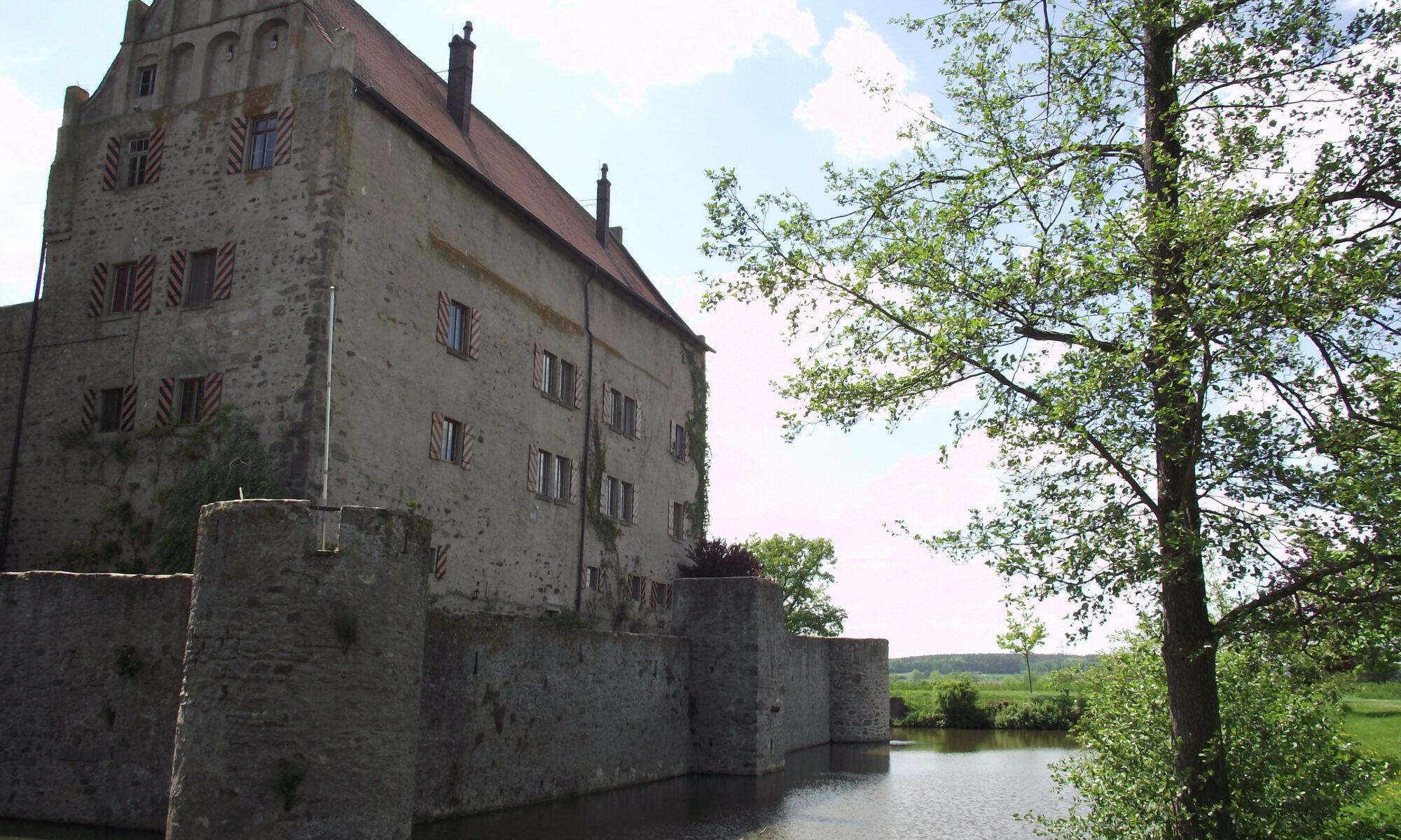 Sommersdorf - Kulturausflug, Ansbach - Sommersdorf, Wasserschloss Sommerdorf