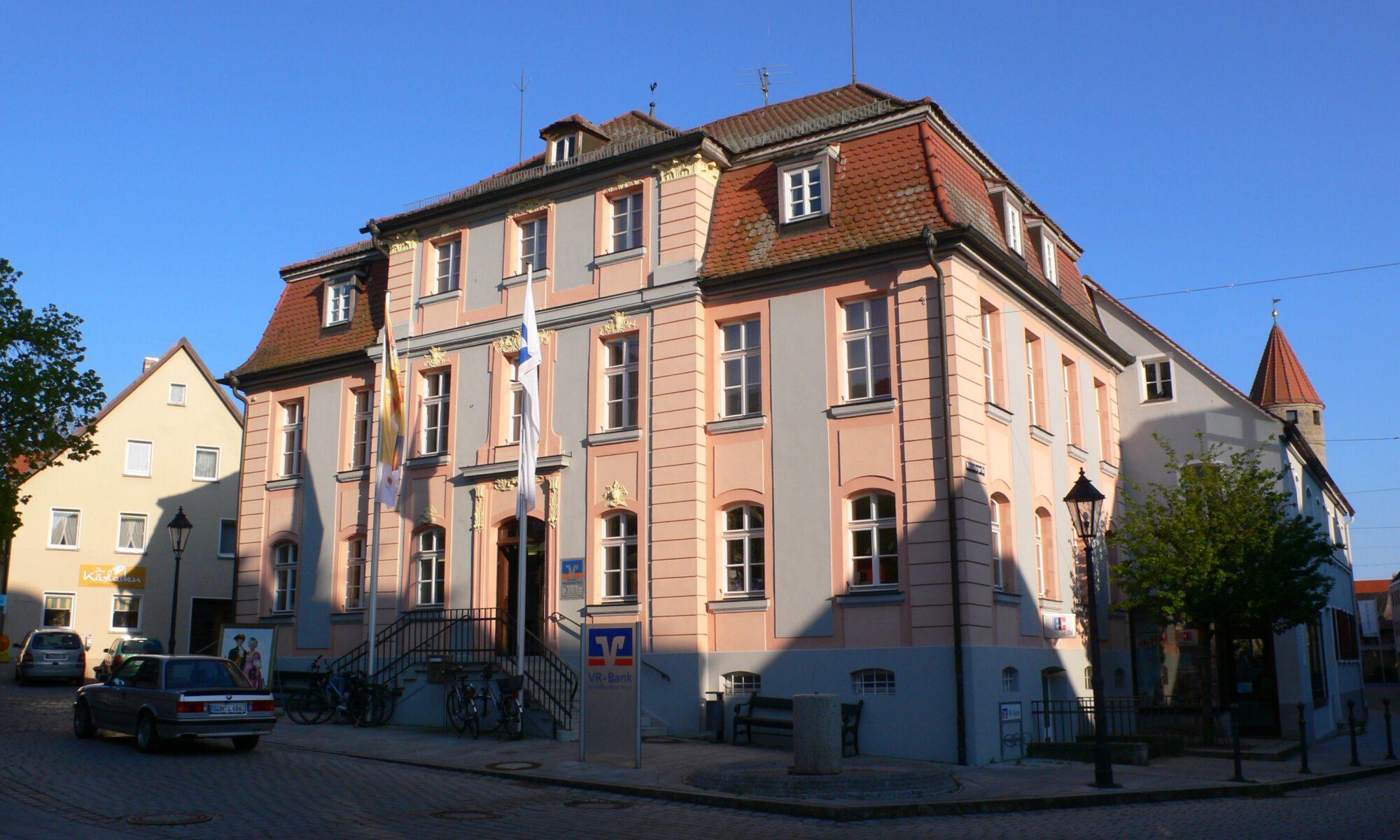 Palais Heydenab GunzenhausenHeydenabsches Haus| Markgrafen zu Ansbach Foto:Die Ansbachische Markgrafenstraße
